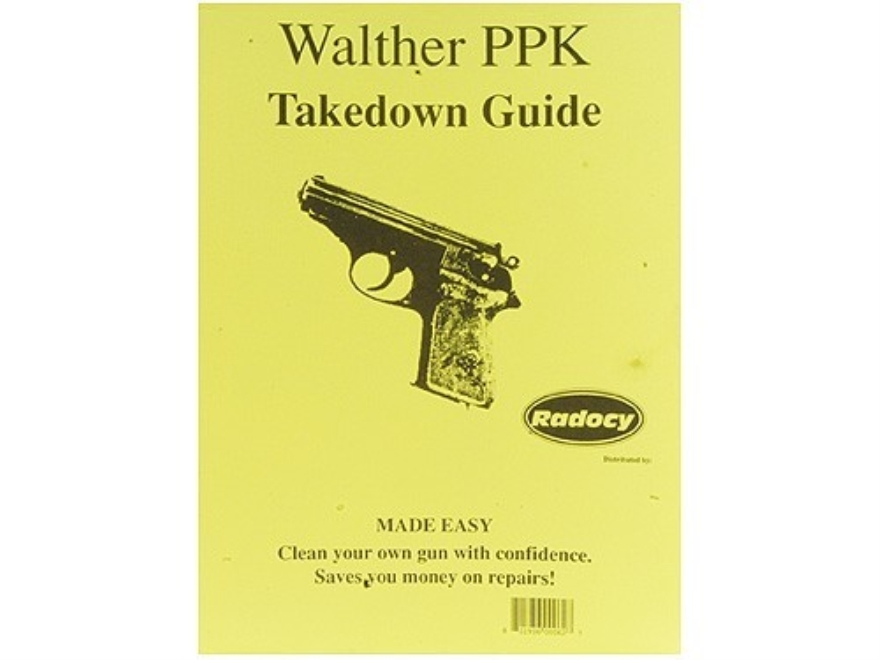"Radocy Takedown Guide ""Walther PPK"""