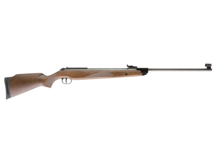 RWS 350 Magnum Air Rifle 22 Caliber Pellet Wood Stock Blue Barrel