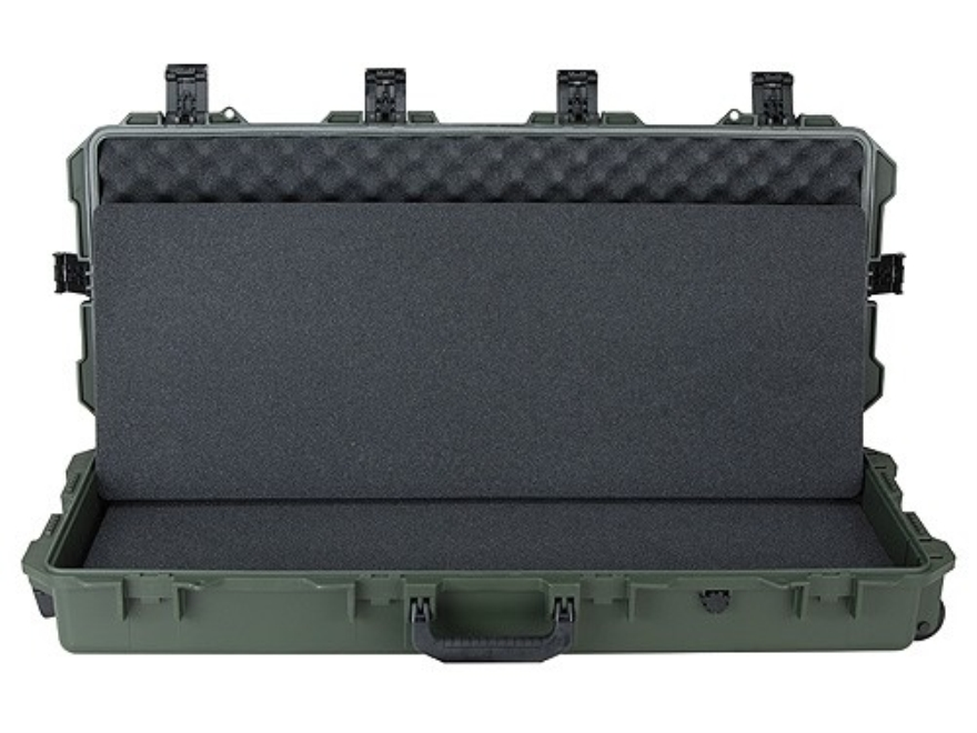 Pelcian Storm 3100 Scoped Rifle Case with Solid Foam Insert and Wheels Polymer