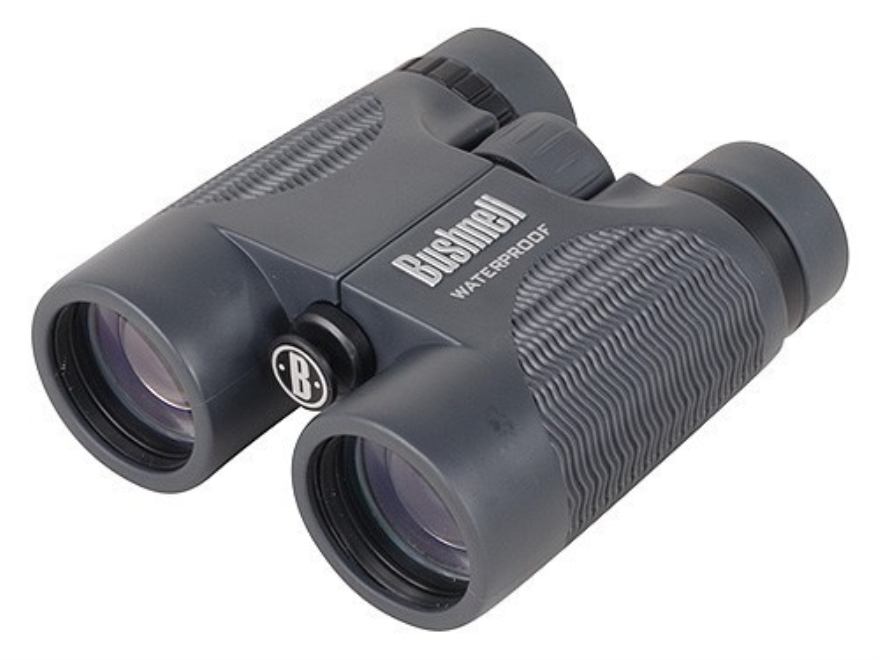 Bushnell H2O Binocular 8x 42mm Roof Prism Rubber Armored Black