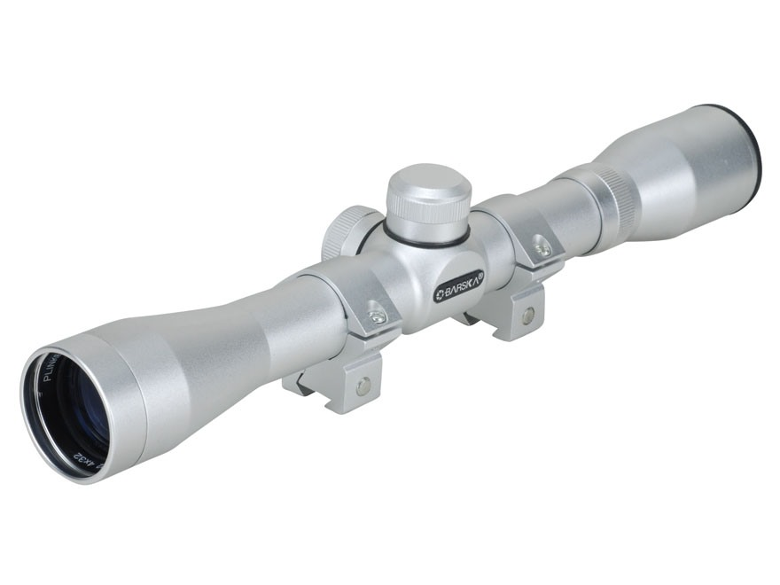 Barska Plinker 22 Rimfire Rifle Scope 4x 32mm 30-30 Reticle
