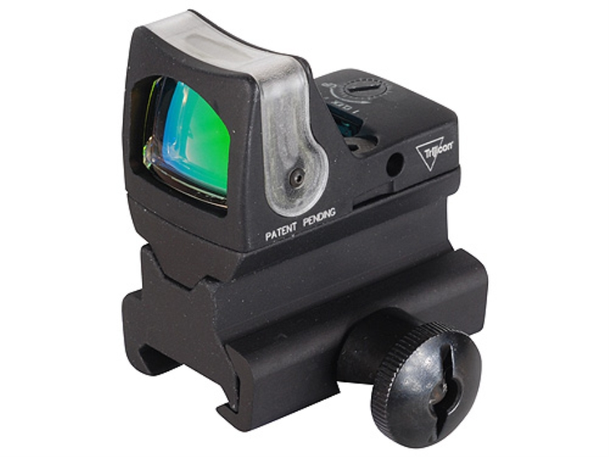 Trijicon RMR Reflex Red Dot Sight Dual-Illuminated Amber Dot Matte with RM34 Mount Matte