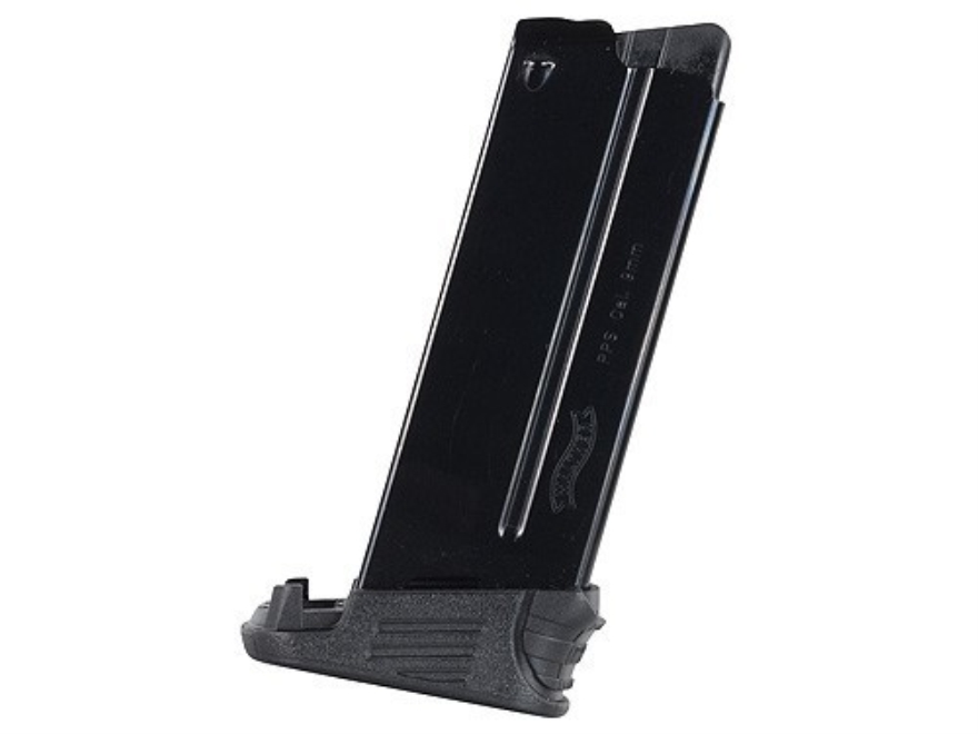 Walther Magazine Walther PPS 9mm Luger 7-Round Steel Blue