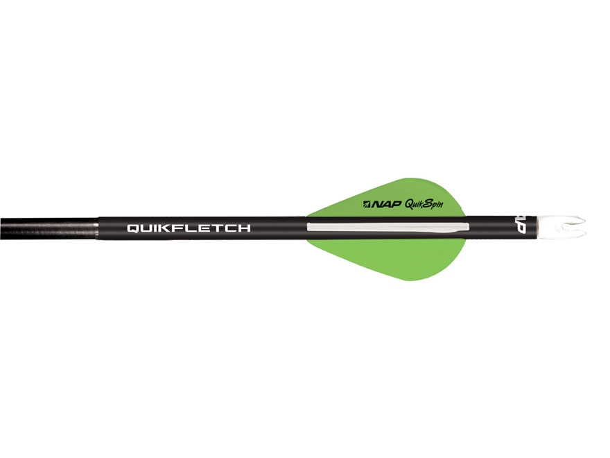 NAP Quikfletch Quikspin Arrow Fletching System