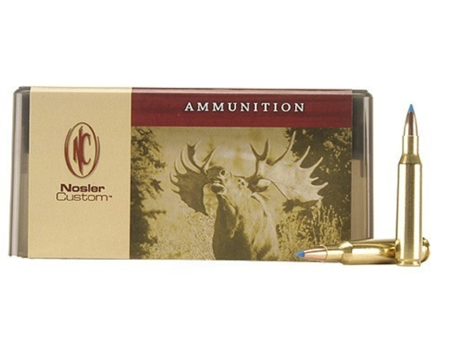 Nosler Custom Ammunition 257 Roberts +P 115 Grain Ballistic Tip Hunting Box of 20