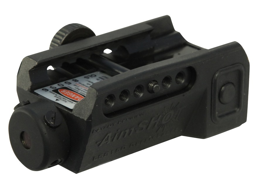AimShot LS8150 Rechargeable Compact Pistol Green Laser Sight with Integral Picatinny-Style Rail Mount Matte