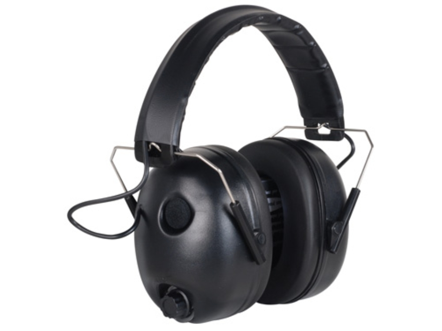 Browning Midas Electronic Earmuffs (NRR 28dB) Black