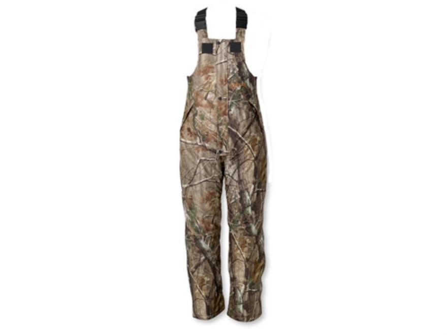 "Scent-Lok Men's Thundertek Cyclone Waterproof Insulated Bibs Polyester Realtree AP Camo Large 36-38 Waist 32"" Inseam"