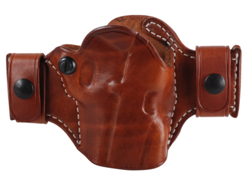 El Paso Saddlery Snap Off Compact Outside the Waistband Holster Right Hand 1911 Leather