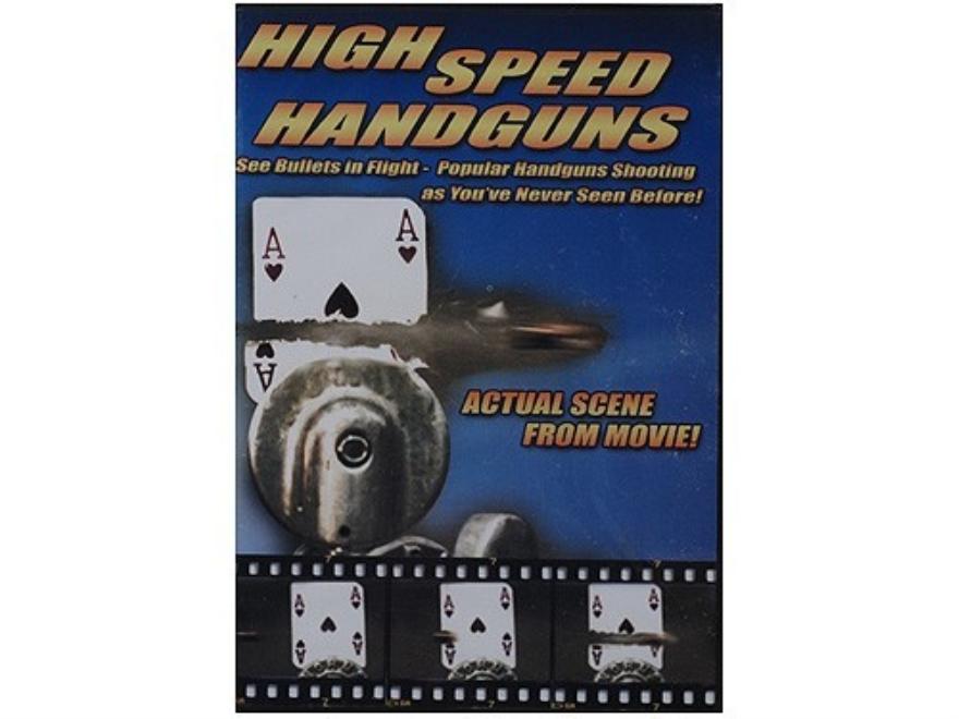 """Gun Video """"High Speed Handguns"""" DVD"""