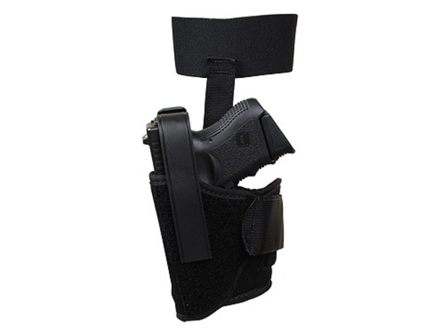 BlackHawk Ankle Holster Glock 26, 27, 33 Nylon Black