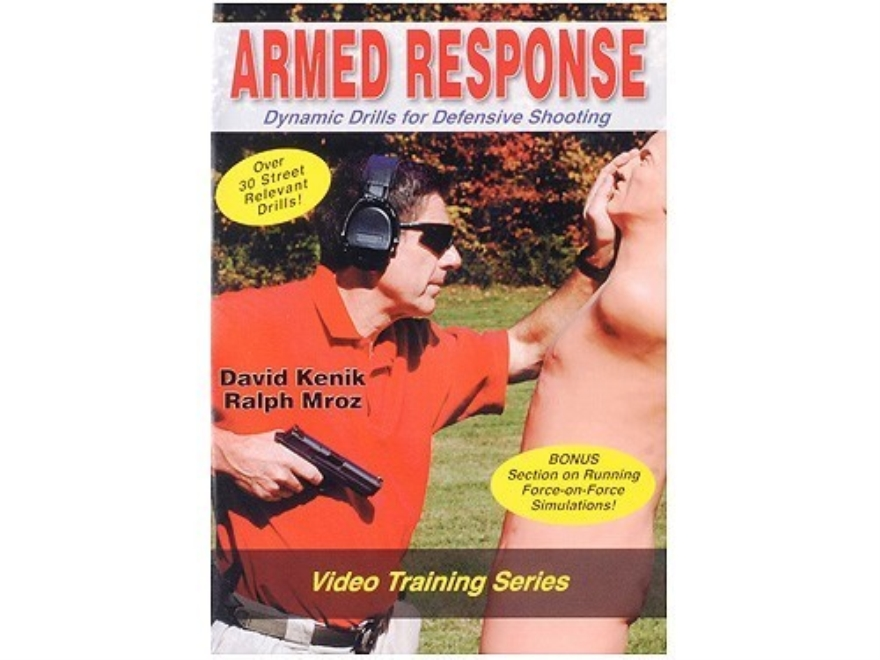 "David Kenik Video ""Armed Response: Dynamic Drills for Defensive Shooting"" DVD"