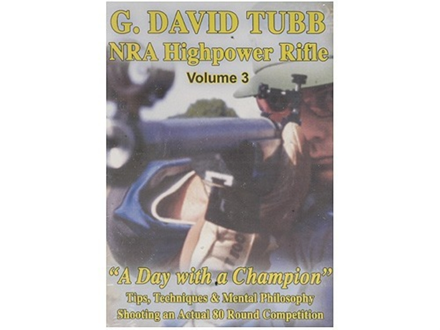 "Gun Video ""NRA Highpower Rifle Competition: Volume 3 with G. David Tubb"" DVD"