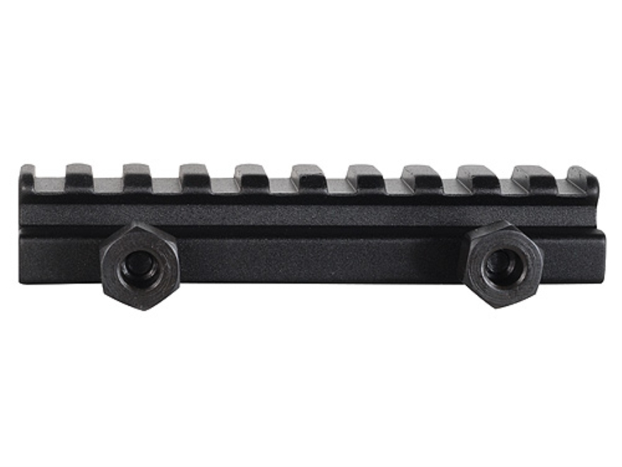"TRUGLO 1/2"" Picatinny-Style Riser Mount AR-15 Flat-Top Matte"