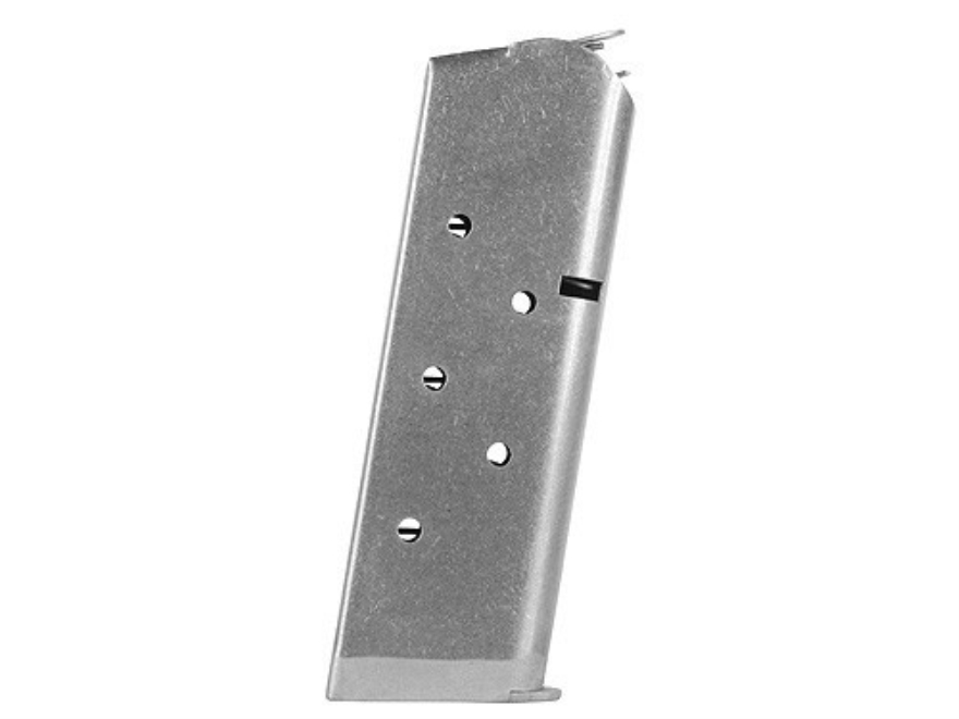 Colt Magazine 1911 Officer, Colt Defender, New Agent 45 ACP 6-Round Stainless Steel