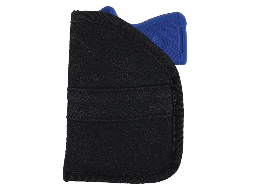Allen No-Sho Pocket Holster Ambidextrous 9mm and 40 Cal Sub-Compacts Nylon Black
