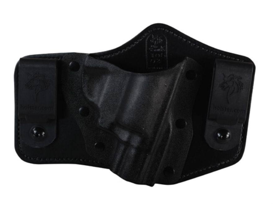 DeSantis Intruder Inside the Waistband Holster Right Hand S&W J-Frame Kydex and Leather Black