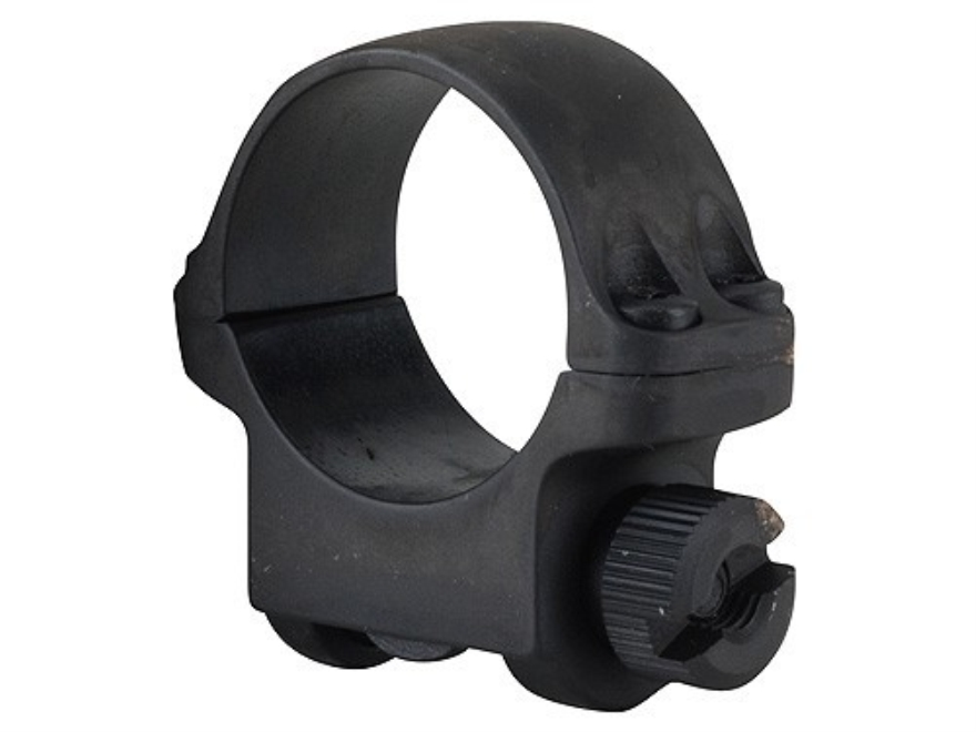 "Ruger 1"" Ring Mount 3BHM Matte Low"