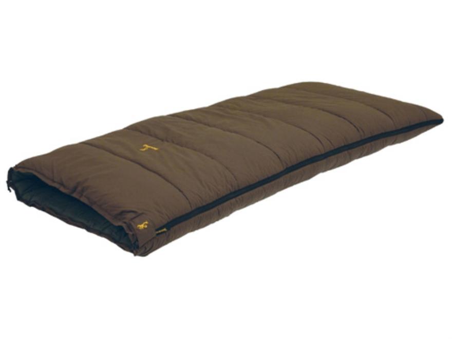 "Browning Maplewood 0 Degree Sleeping Bag 38"" x 80"" Nylon Clay"