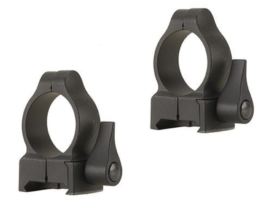 "Durasight Z-2 Alloy 1"" Quick Detachable Rings Weaver-Style"