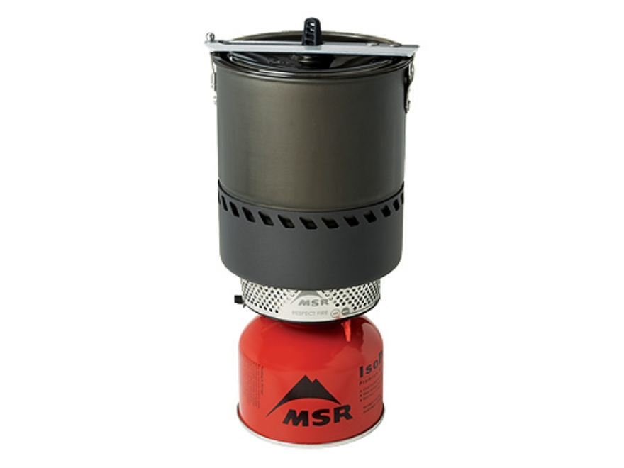 MSR Reactor Camp Stove System with Pot Aluminum and Steel