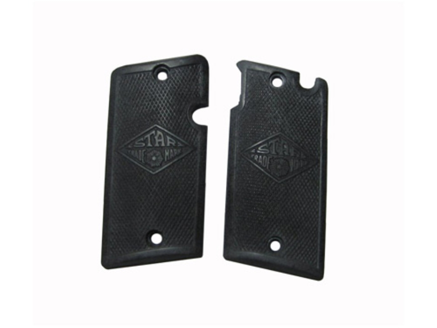 Vintage Gun Grips Star CO 25 ACP Polymer Black