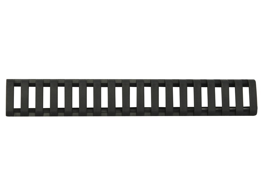 "Daniel Defense Low Profile Picatinny Rail Cover 6-1/2"" Polymer Black Package of 3"