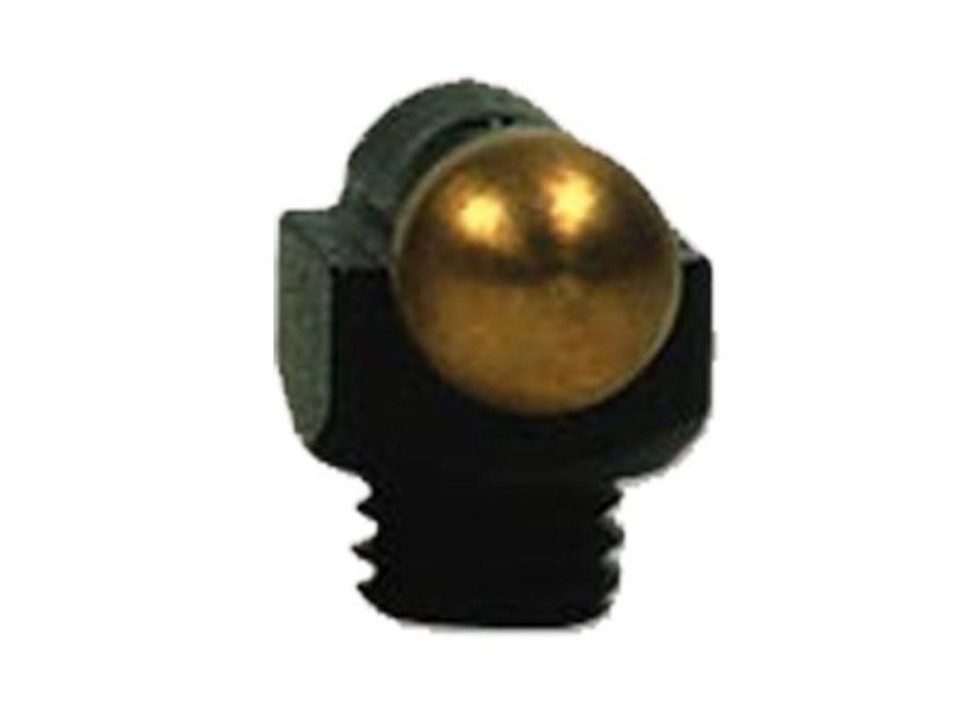 """Marble's Expert Shotgun Front Bead Sight .094"""" Diameter 5-40 Thread 3/32"""" Shank Gold"""