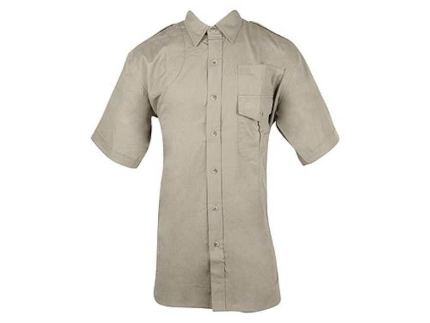Boyt Shumba Shell Loop Safari Shirt Short Sleeve Cotton Poplin