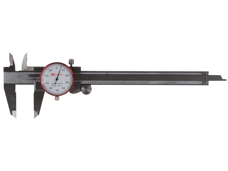 "Hornady Dial Caliper 6"" Stainless Steel"