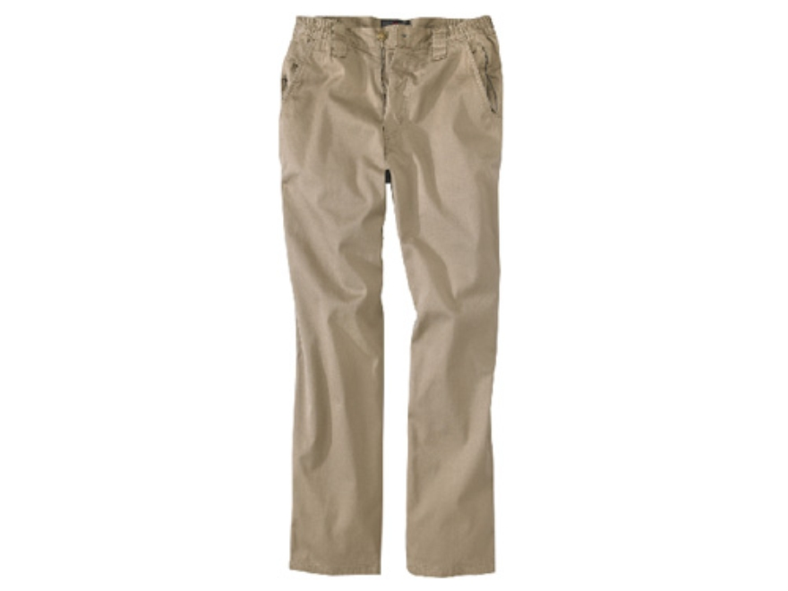 "Woolrich Elite Concealed Carry Chino Pants Cotton Twill Khaki 34"" Waist 34"" Inseam"