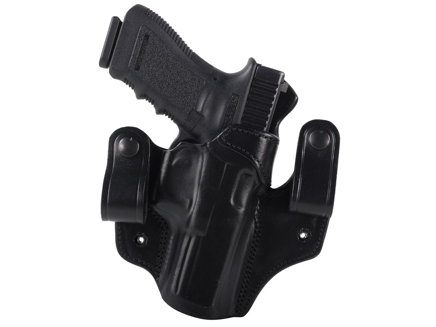 DeSantis Mad Max Tuckable Inside the Waistband Holster Glock 17, 19, 22, 23, 31 Leather