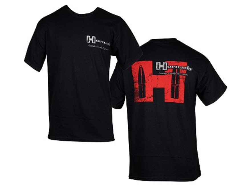 Hornady Weathered T-Shirt Short Sleeve Cotton