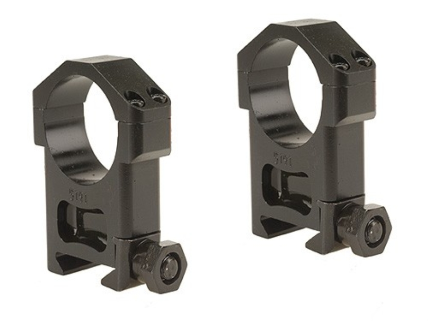 Badger Ordnance Picatinny-Style 30mm Maximized Rings Matte