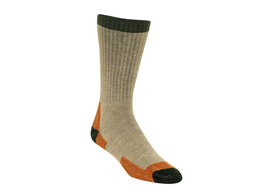 Kenetrek Men's Montana Midweight Crew Socks Merino Wool Blend Tan