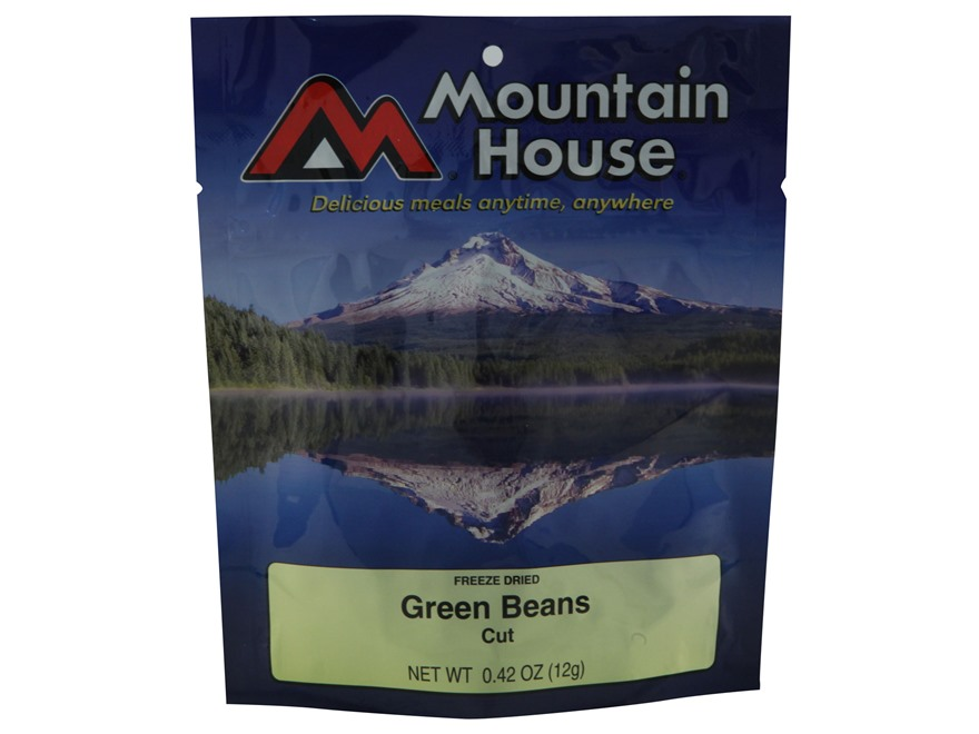 Mountain House Green Beans Freeze Dried Food 2 Servings