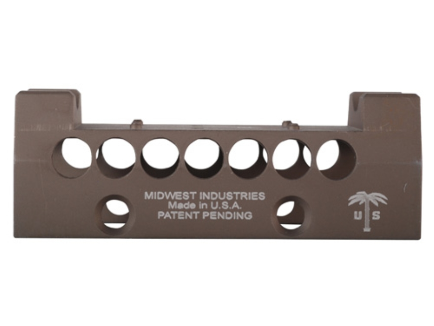 Midwest Industries US Palm AK-47, AK-74 Handguard Top Cover with Burris Fast Fire Optic...