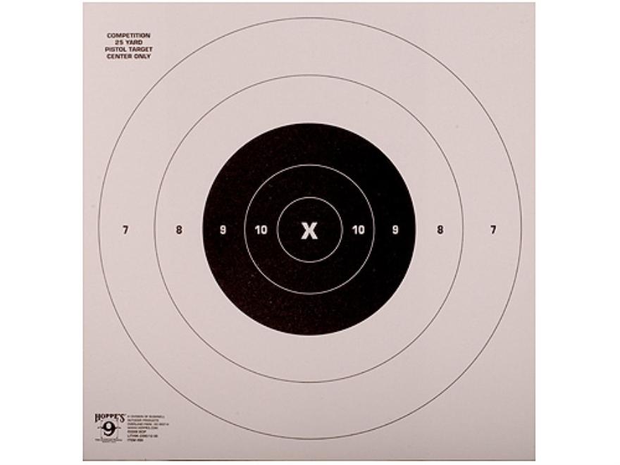 Hoppe's Rapid FireTarget 25 Yard Pistol  Package of 20