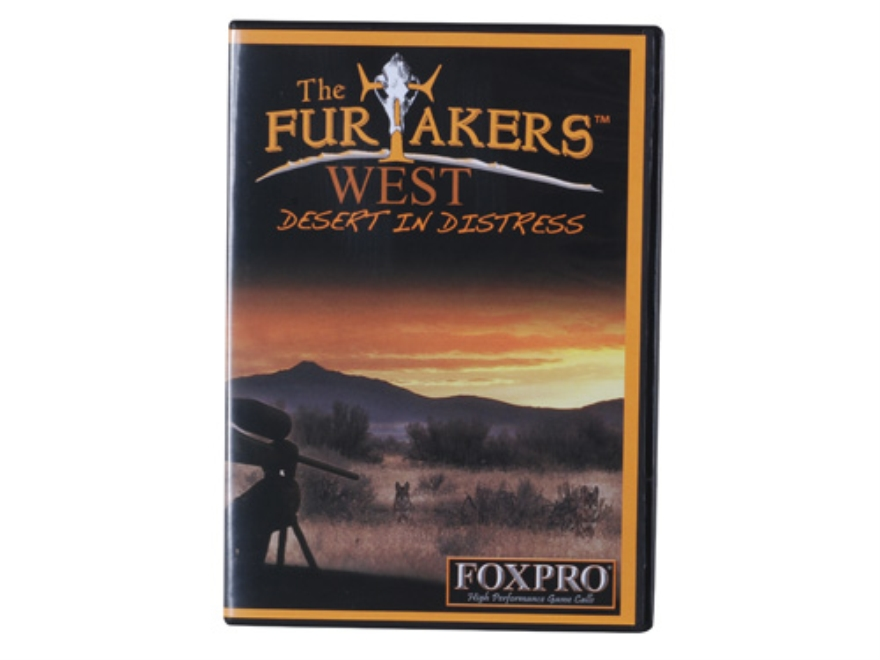 "FoxPro Furtakers Volume 3 ""Desert in Distress"" Predator Video DVD"