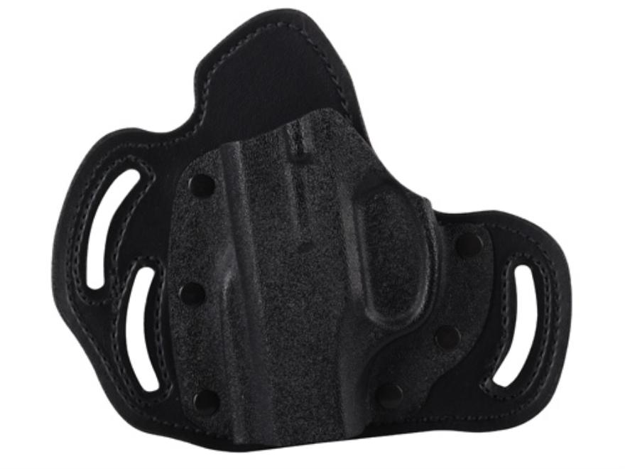 DeSantis Intimidator Belt Holster Left Hand Ruger LC9 Kydex and Leather Black