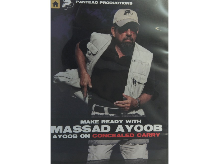 "Panteao ""Make Ready with Massad Ayoob: Ayoob on Concealed Carry"" DVD"