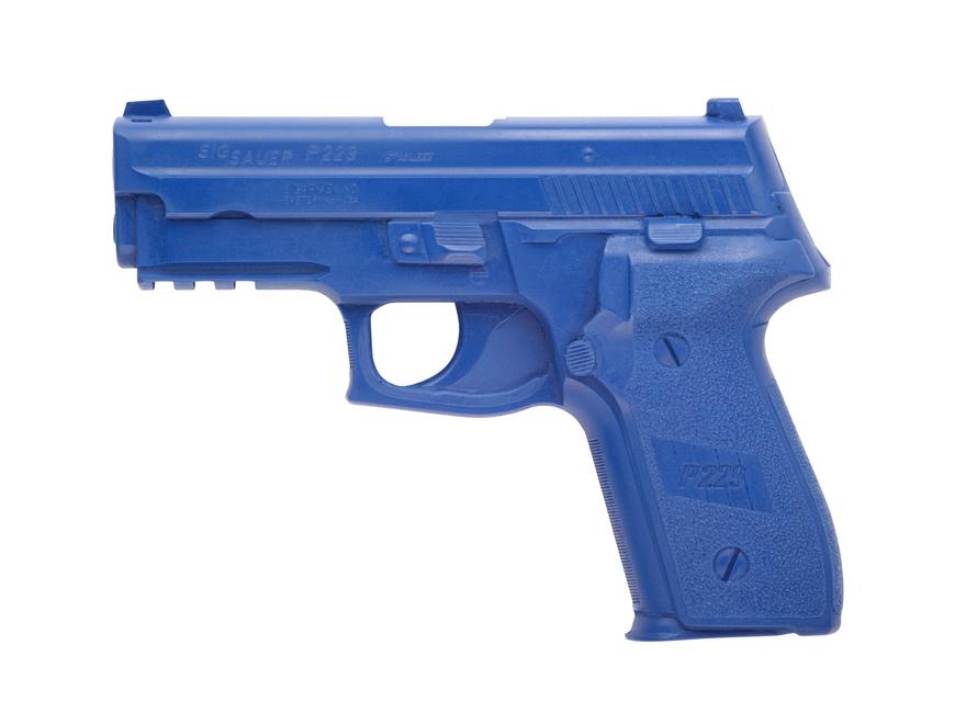 BlueGuns Firearm Simulator Sig Sauer P229 DAK Polyurethane Blue