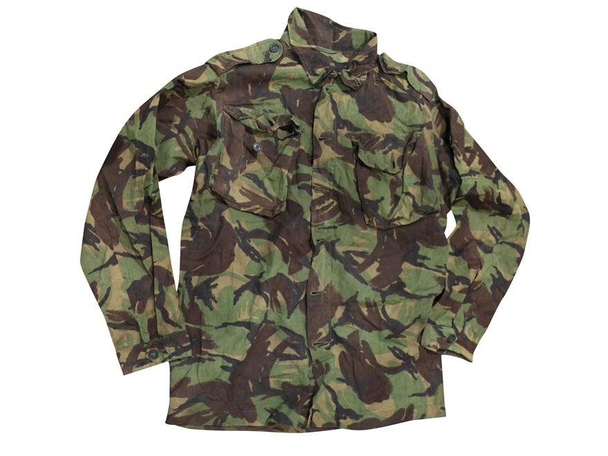 Military Surplus British DPM Camo Field Shirt