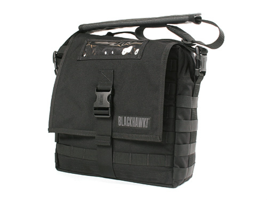 BLACKHAWK! Enhanced Battle Bag with Webbing Nylon Black