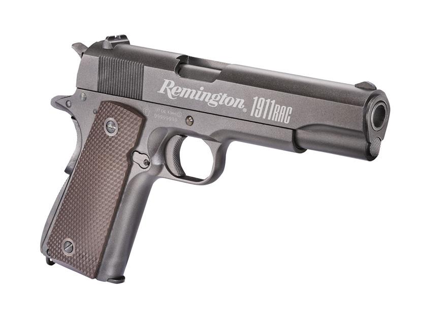 Remington 1911 RAC Air Pistol 177 Caliber BB Black