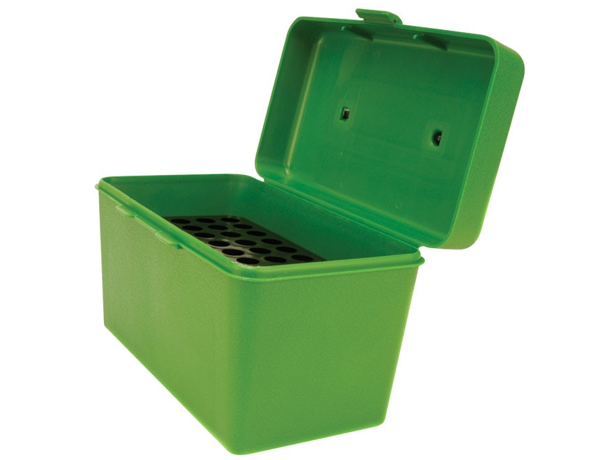 MTM Deluxe Flip-Top Ammo Box with Handle 270 Winchester, 30-06 Springfield, 8x57mm Mauser 50-Round Plastic