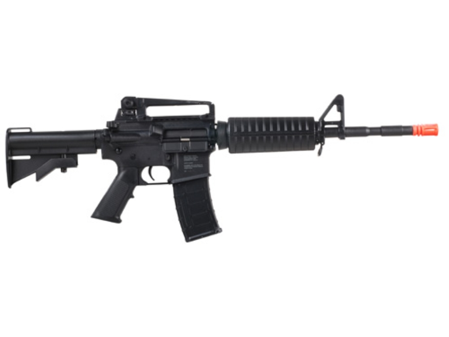 Game Face M4 AEG Airsoft Rifle 6mm Electric Select Fire Polymer Black