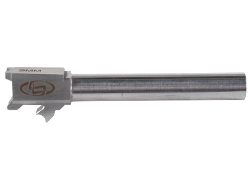 "Storm Lake Barrel Springfield XD Tactical 40 S&W to 9mm Luger Conversion 1 in 16"" Twist 5.01"" Stainless Steel"