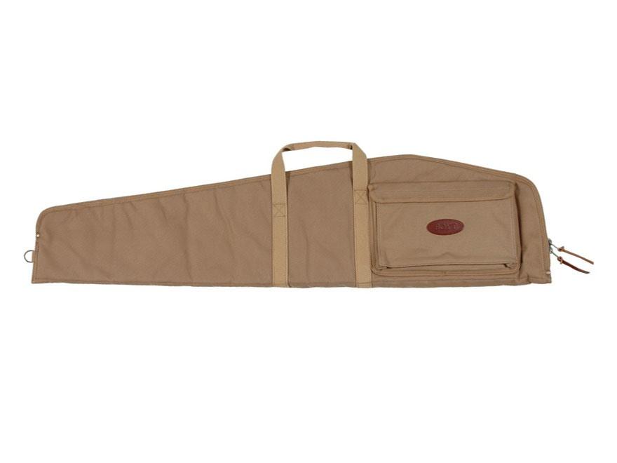 Boyt Scoped Varmint Rifle Case with Pocket Canvas