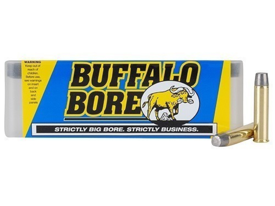 Buffalo Bore Ammunition 460 S&W Magnum 360 Grain Lead Long Flat Nose Box of 20